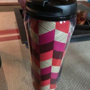 Vera Bradley travel mug.